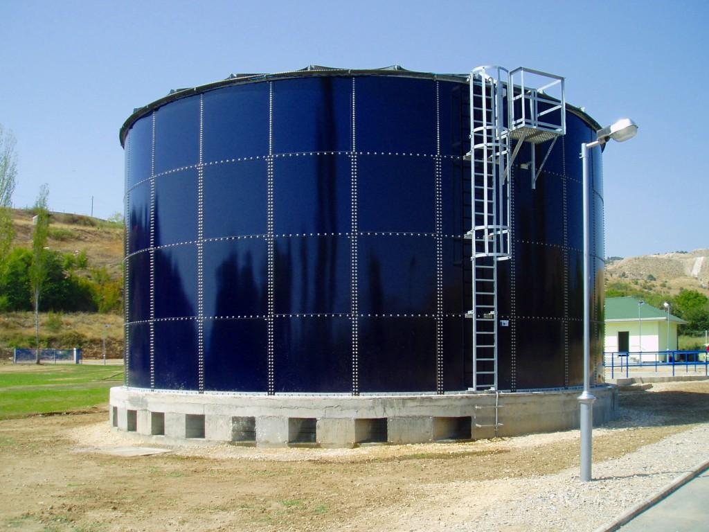 Tanque de almacenamiento de agua